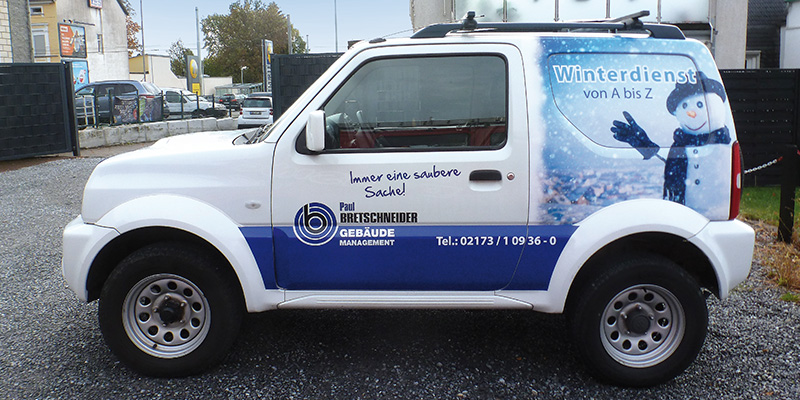 Autogestaltung Winterdienst