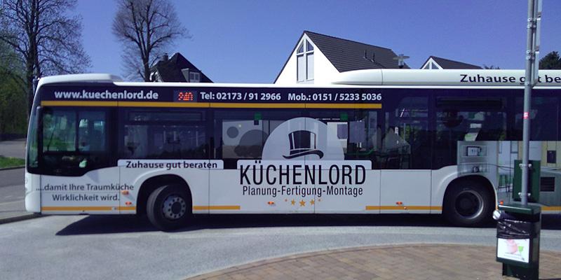Busgestaltung fuer den Kuechenlord
