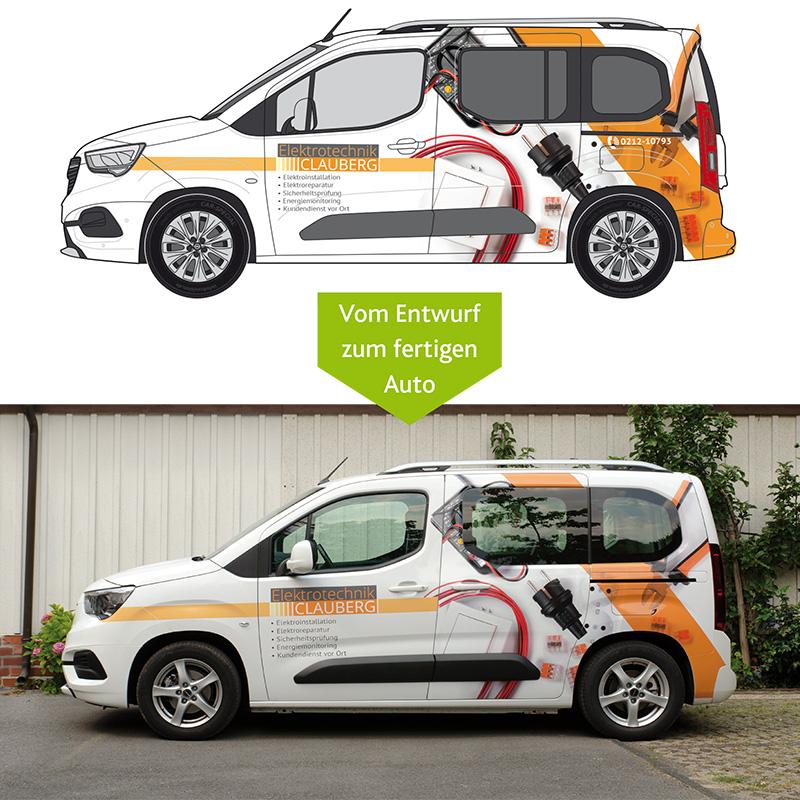 Individuelles Fahrzeugdesign - vom Entwurf zum fertigen Auto